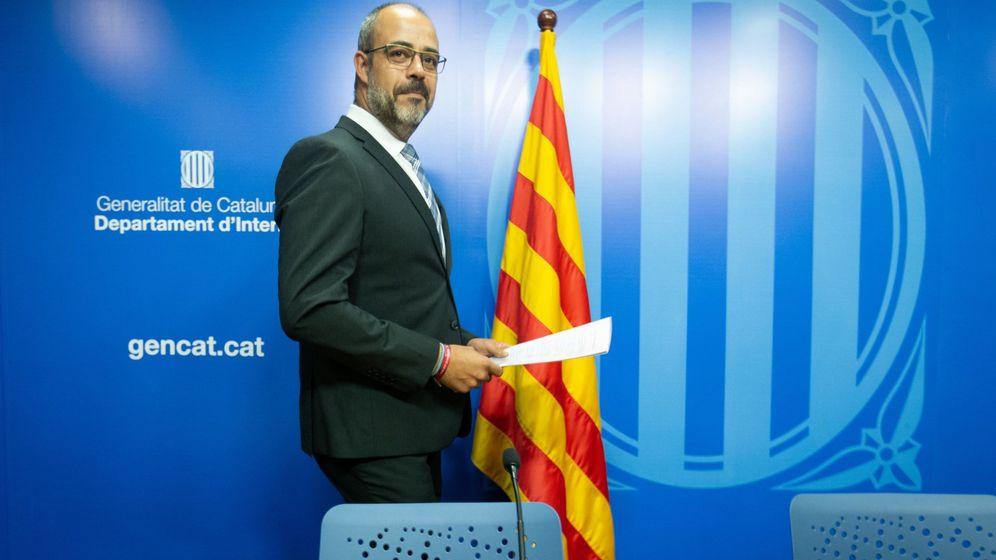 Foto: Miquel Buch, en rueda de prensa. (EFE)