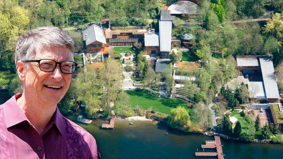 10 cosas que no sabías de la mansión de 123 millones en la que vive Bill Gates
