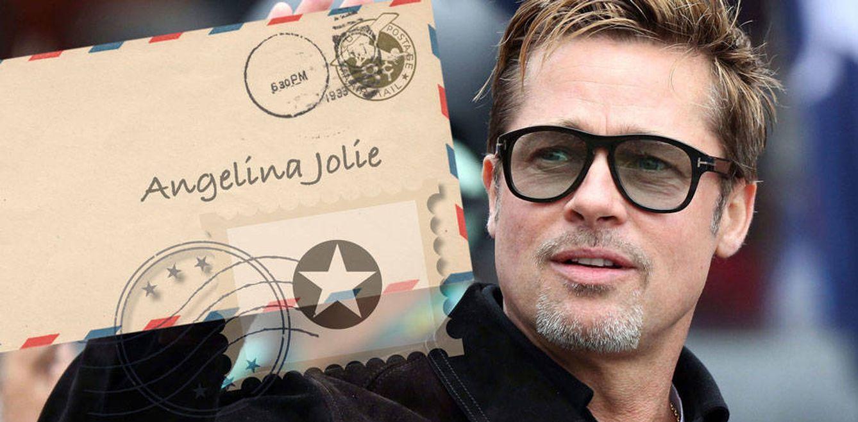 La carta que convirtió a Brad Pitt en el marido perfecto