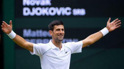 Pidiendo el ojo de halcón frente a Novak Djokovic, el tenista antichuletones