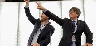 Post de Incredulidad por la visita de Puigdemont: