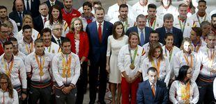 Post de Los Reyes de España rinden tributo a los campeones de Río de Janeiro