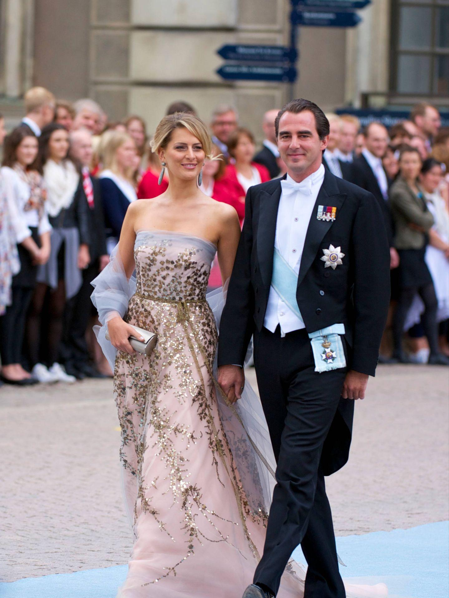Tatiana Blatnik y el príncipe Nicolás de Grecia. (Limited Pictures)