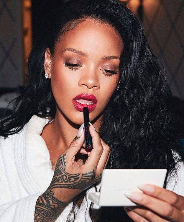 Foto: La cantante Rihanna en una imagen de su perfil de Instagram.
