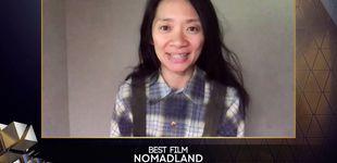 Post de 'Nomadland' triunfa en los BAFTA e impone su viaje eterno en el cine