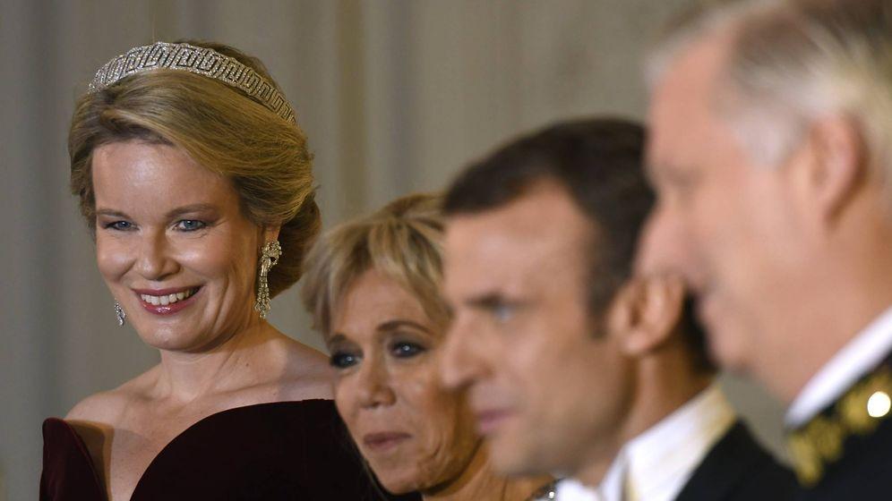 Foto: Cena de Estado en Bélgica. (Getty Images)