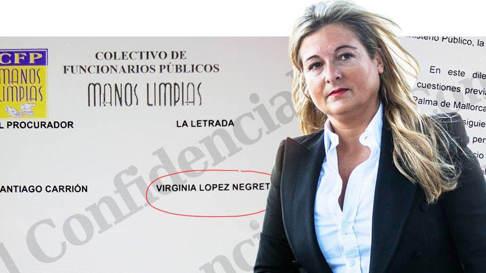 El escrito de Manos Limpias para negociar la salvación de la Infanta cerca a López Negrete