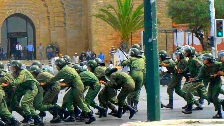 Intervención militar de las Fuerzas de Marruecos. (FB Fuerzas Marruecos)