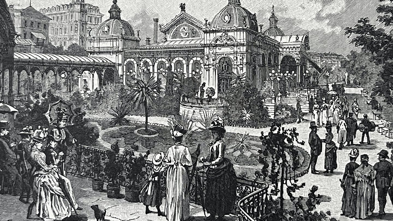 El 'resort' más grande de Europa Central alrededor del 1900, Karlsbad, localizado en Alemania.  Por él pasaron invitados históricos famosos como Goethe, Karl Marx, Wagner o Mozart. (iStock)