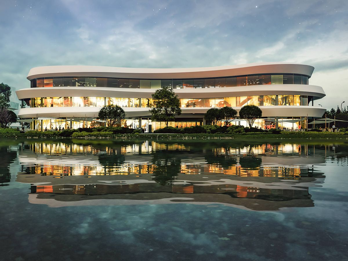Foto: Futuro centro comercial de La Finca.
