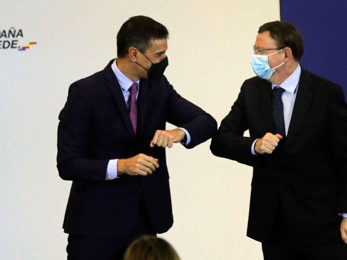 Foto: Pedro Sánchez y Ximo Puig. (EFE)