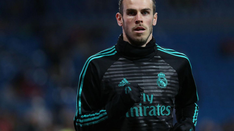 Gareth Bale, calentando. (Reuters)
