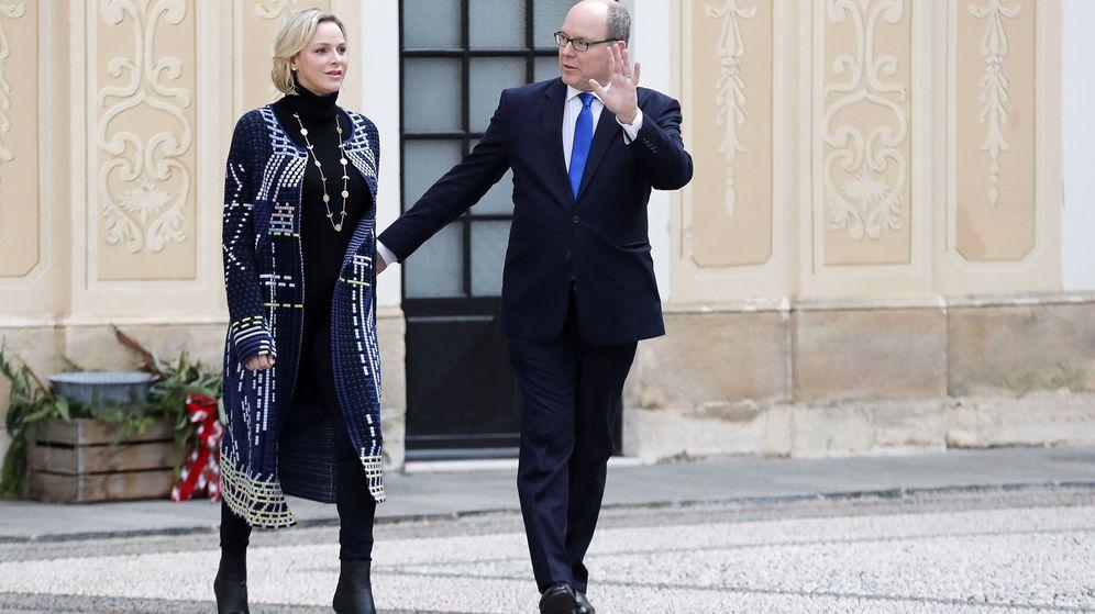 Foto: Alberto y Charlène, en una imagen de archivo. (EFE)