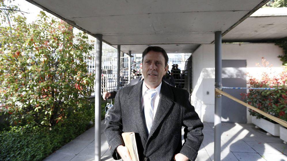 Foto: Eufemiano Fuentes, en una de las sesiones del juicio por la Operación Puerto (Efe).