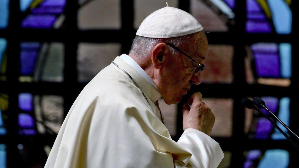 Foto: El Papa Francisco ha pedido perdón públicamente por los abusos sexuales en la Iglesia (EFE/Ciro Fusco)