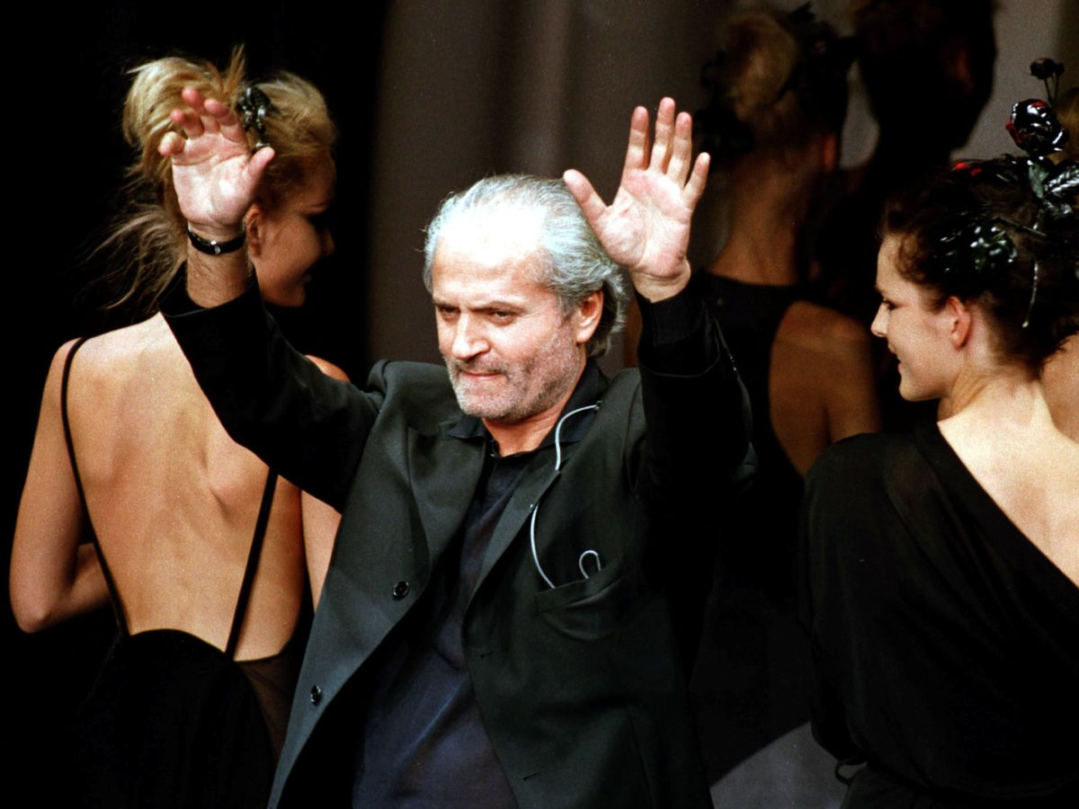 Foto: Gianni Versace. (Reuters)