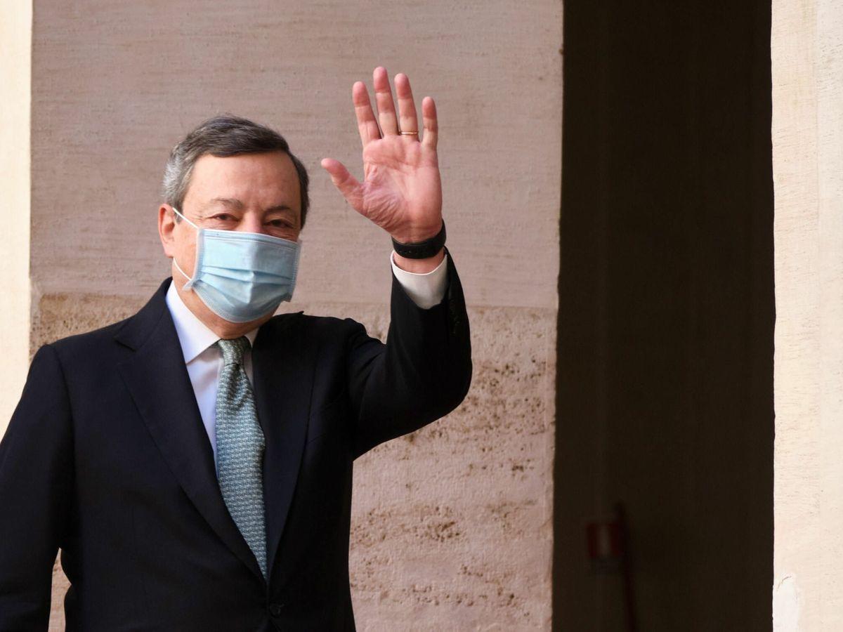 Foto: Mario Draghi, primer ministro italiano. (EFE)