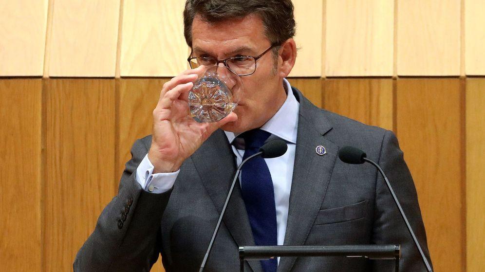 Foto: El presidente de la Xunta, Alberto Núñez Feijóo, afronta su último debate del estado de la autonomía. (EFE)