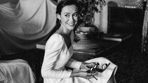 Las fotos nunca vistas de la boda de la sobrina de Marichalar y el misterio de la tiara
