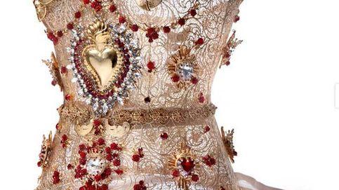 Un corsé de filigranas doradas digno de una emperatriz egipcia
