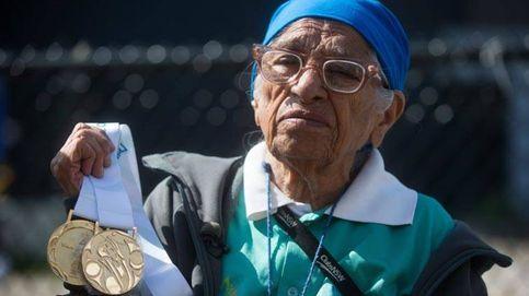La mujer de 101 años que ganó su 17ª medalla de oro en los 100 metros lisos