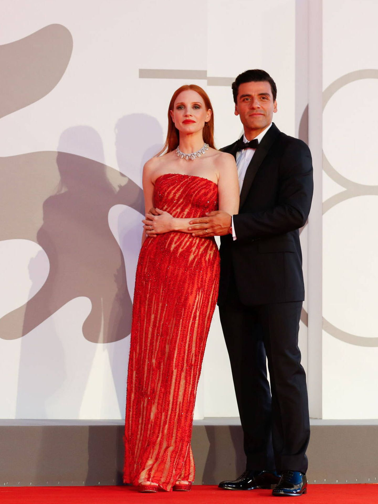 Jessica Chastain y Oscar Isaac. (Reeuters)