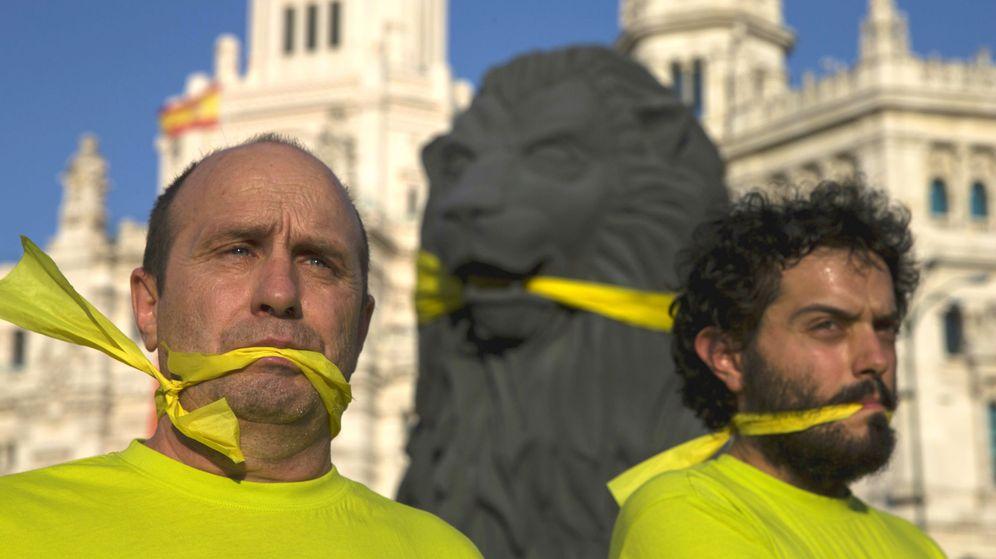 Foto: Protestas en Madrid contra la Ley Mordaza, aprobada este año por el Gobierno. (Foto: Reuters)