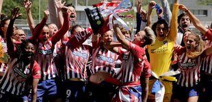 Post de El Atlético de Madrid gana la Liga: un trienio que puede terminar con su primer doblete