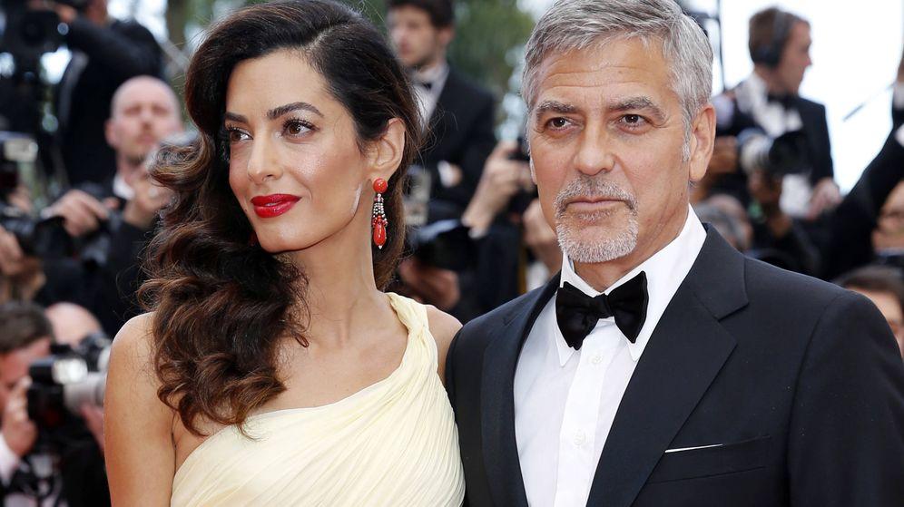 Foto: George Clooney y su mujer, Amal Alamuddin, en una imagen de archivo. (Gtres)