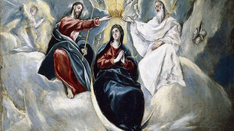'La Coronación de la Virgen' (1591), de El Greco. (C.C.)