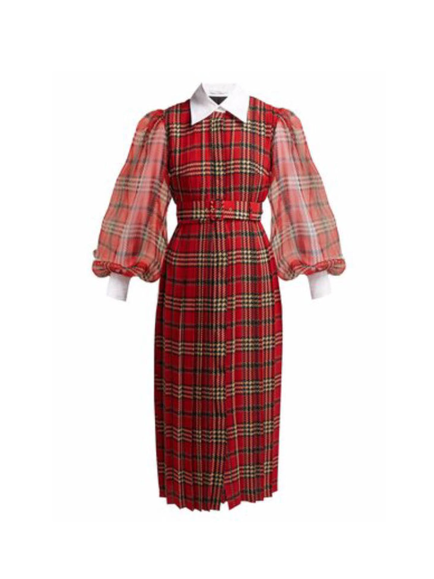 Vestido de Emilia Wickstead. (Cortesía)