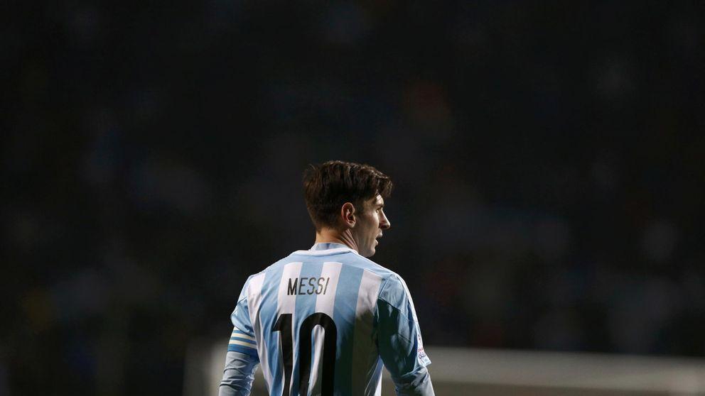 Las Malvinas y un 'pitbull' para Messi  calientan la final de la Copa América