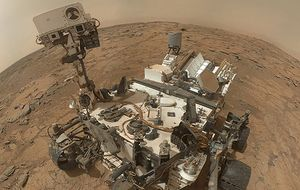 Curiosity encuentra en Marte restos orgánicos de origen desconocido