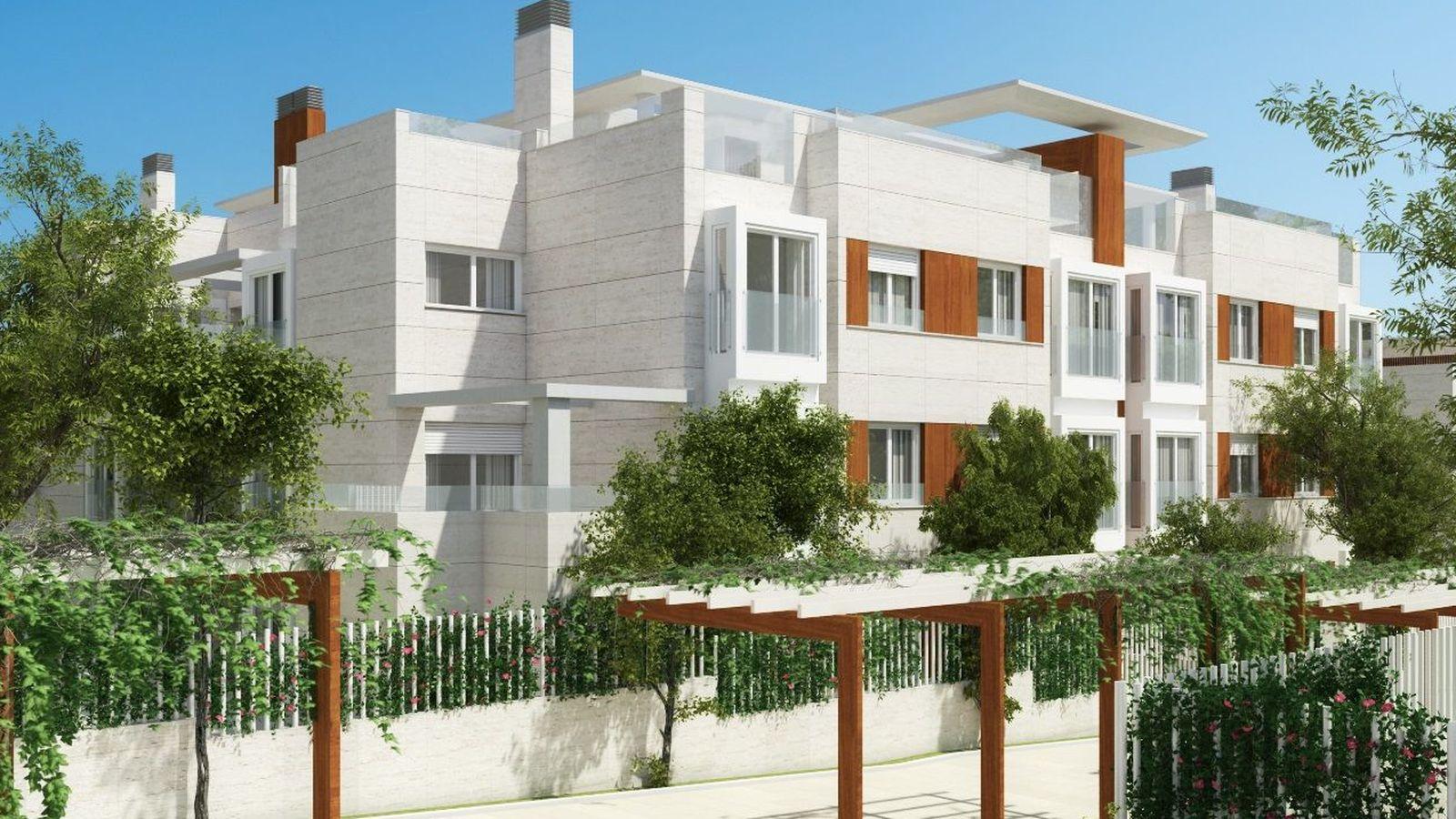 Foto: Aravaca Garden. Foto: Momentum Real Estate.