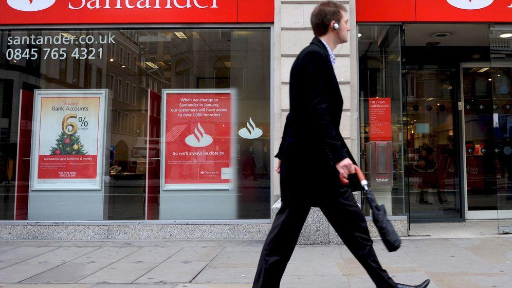 Foto: Oficina de Santander en Reino Unido. (EFE)
