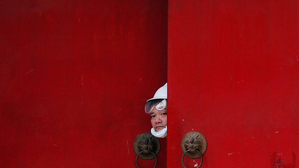 Foto: Un hongkonés, durante las protestas del año pasado. (Reuters)