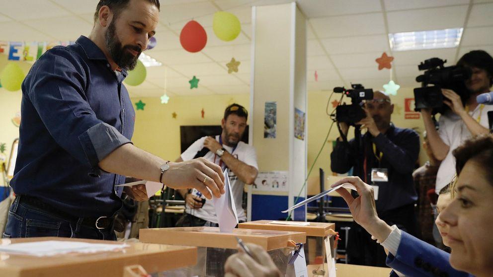 Elecciones municipales 2019: Abascal se muestra convencido de que Vox será determinante tras ir a votar