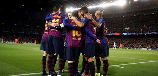 Post de Barcelona-Manchester United, en los cuartos de final de la Liga de Campeones