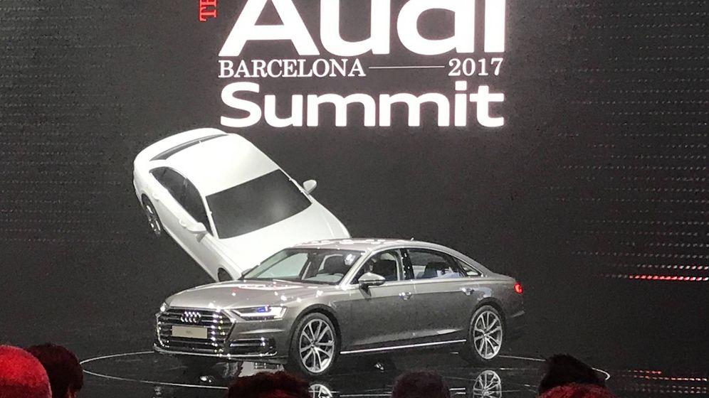 Foto: En el Audi Summit se desveló oficialmente el nuevo A8