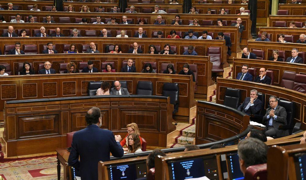 Foto: Sesión de control al gobierno de Mariano Rajoy. (EFE)