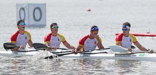 Post de El K4 1000 de España se tiene que conformar con el diploma olímpico