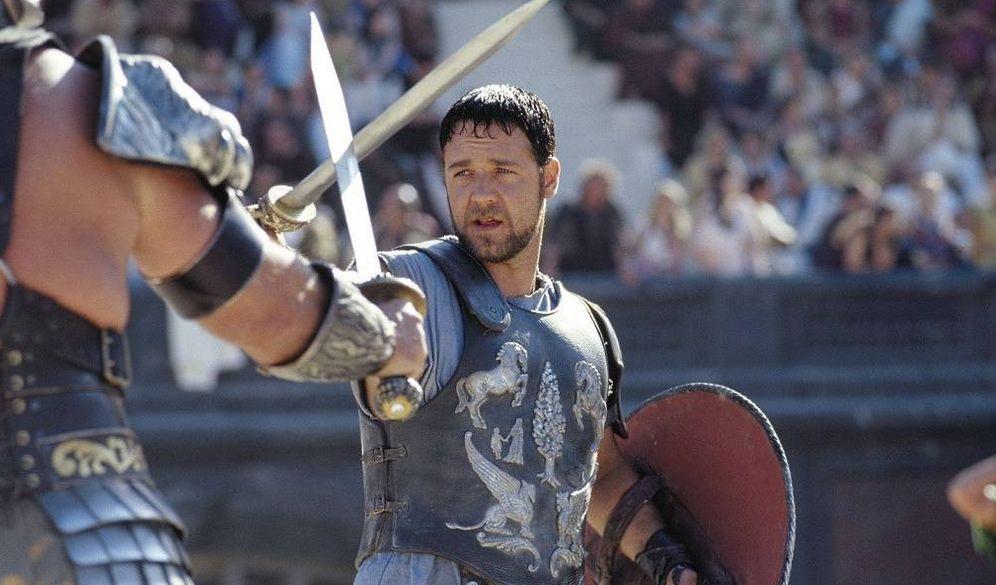 Foto: Russell Crowe, en una escena de Gladiator. (CC)
