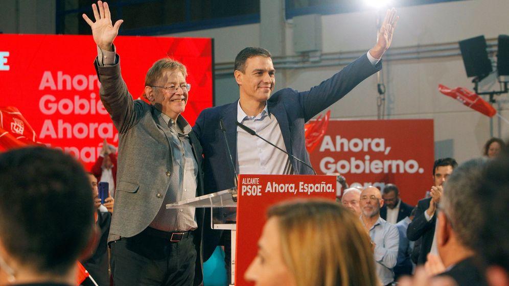 Foto: Ximo Puig y Pedro Sánchez. (EFE)