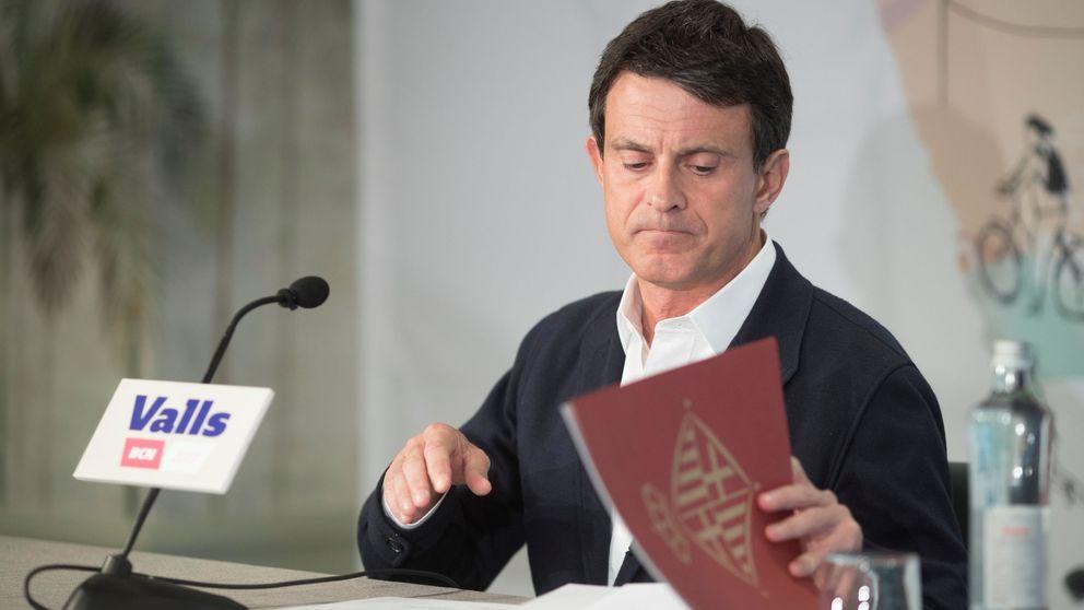 Valls se olvida de Ciudadanos y le dice al socialista Lambán que Aragón le necesita