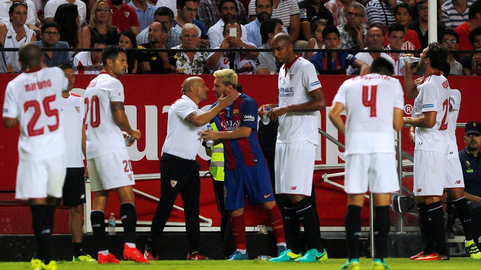 Sampaoli por Luis Enrique para animar a un Messi que no traga a Pep Guardiola