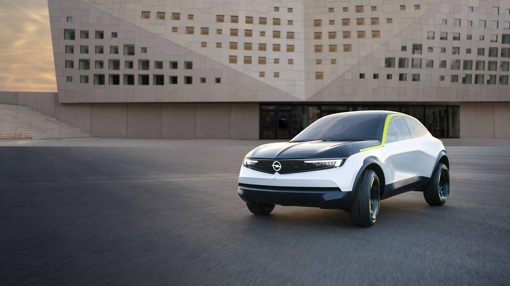 Foto: Frontal muy llamativo en el GTX Experimental que marca el futuro diseño de los nuevos modelos de Opel.