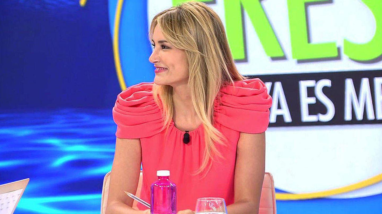 Alba Carrillo, en 'Ya es mediodía'. (Mediaset)