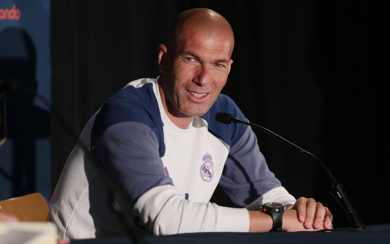 Foto: Zidane, durante una rueda de prensa. (EFE)