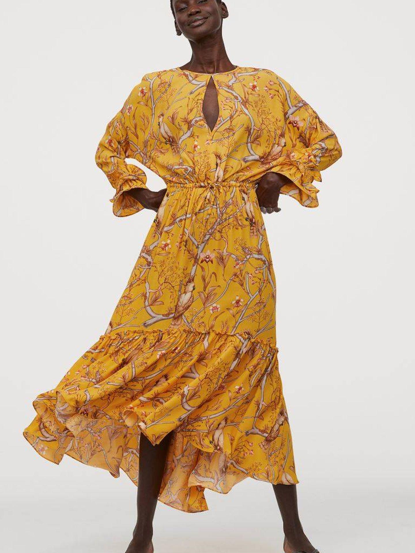 El vestido de Johanna Ortiz para HyM que está a punto de agotarse (Cortesía)