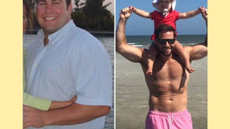 Este padre perdió más de 30 kilos. Y su método es eficaz y razonable